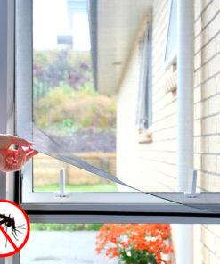 Plasă de țânțari adezivă pentru fereastră