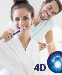 Periuță de dințI 4D (pachet de 2)