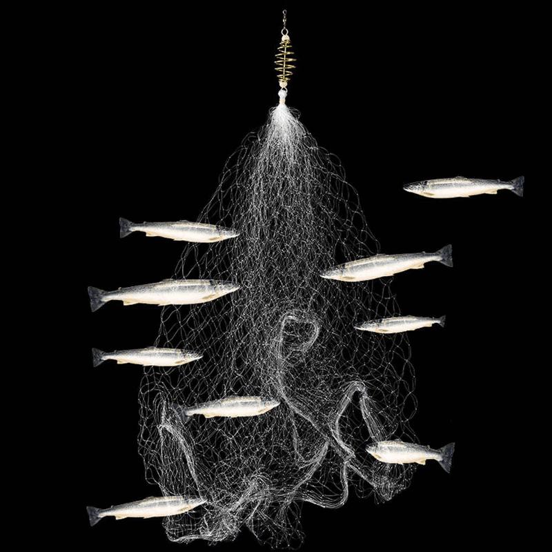 Plasă de pescuit fără cârlige